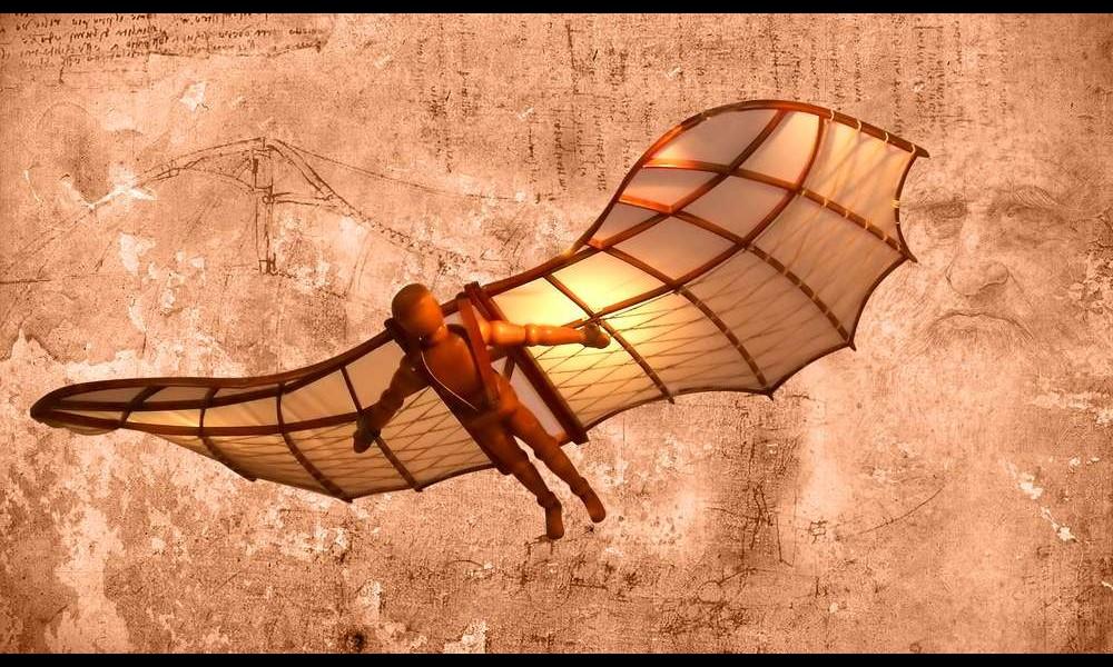 Léonard de Vinci et ses remarquables inventions Sans2275