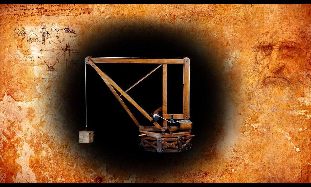 Léonard de Vinci et ses remarquables inventions Sans2276