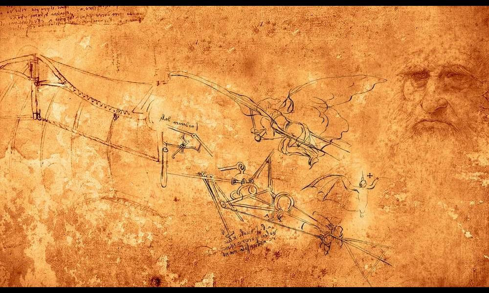 Léonard de Vinci et ses remarquables inventions Sans2278