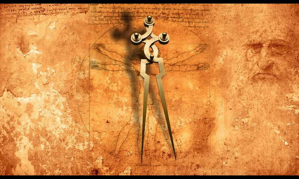Léonard de Vinci et ses remarquables inventions Sans2279
