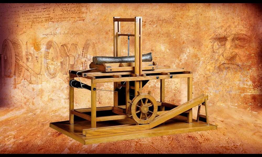 Léonard de Vinci et ses remarquables inventions Sans2280