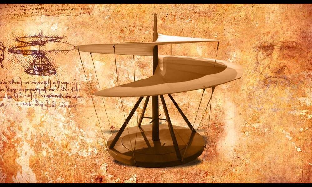 Léonard de Vinci et ses remarquables inventions Sans2281