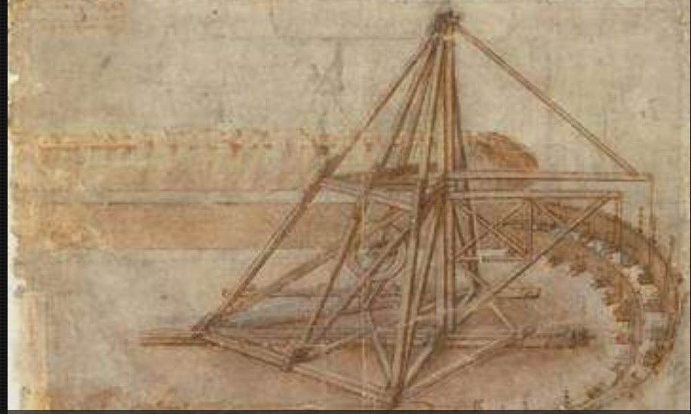 Léonard de Vinci et ses remarquables inventions Sans2284