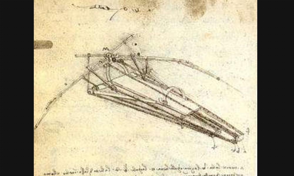 Léonard de Vinci et ses remarquables inventions Sans2287