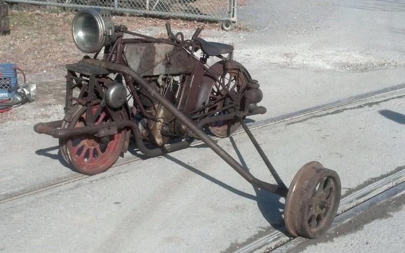 SIDE CAR ancien  Sans2401