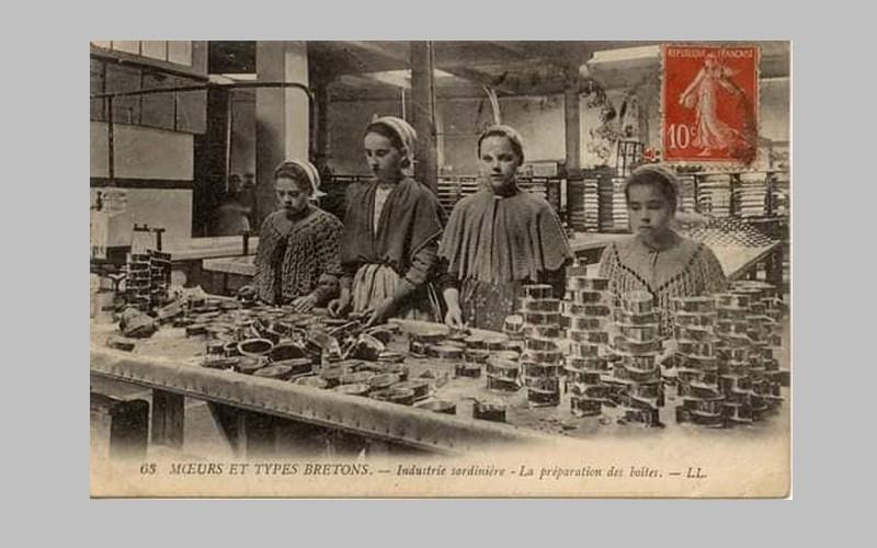 BREIZH ISTOR /LA RÉVOLTE DES PENN SARDIN / 23 NOVEMBRE 1924 / DOUARNENEZ Sans_144
