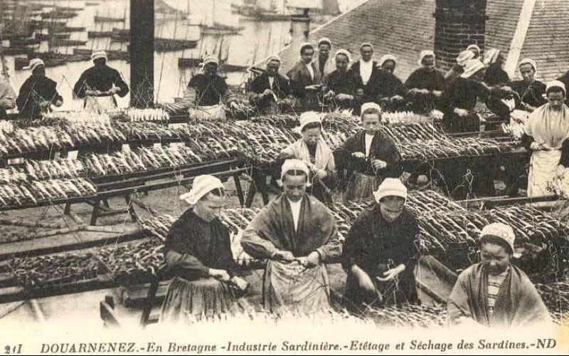 BREIZH ISTOR /LA RÉVOLTE DES PENN SARDIN / 23 NOVEMBRE 1924 / DOUARNENEZ Sans_146