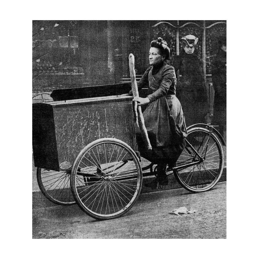 Triporteurs d'autrefois à Paris Sans_159