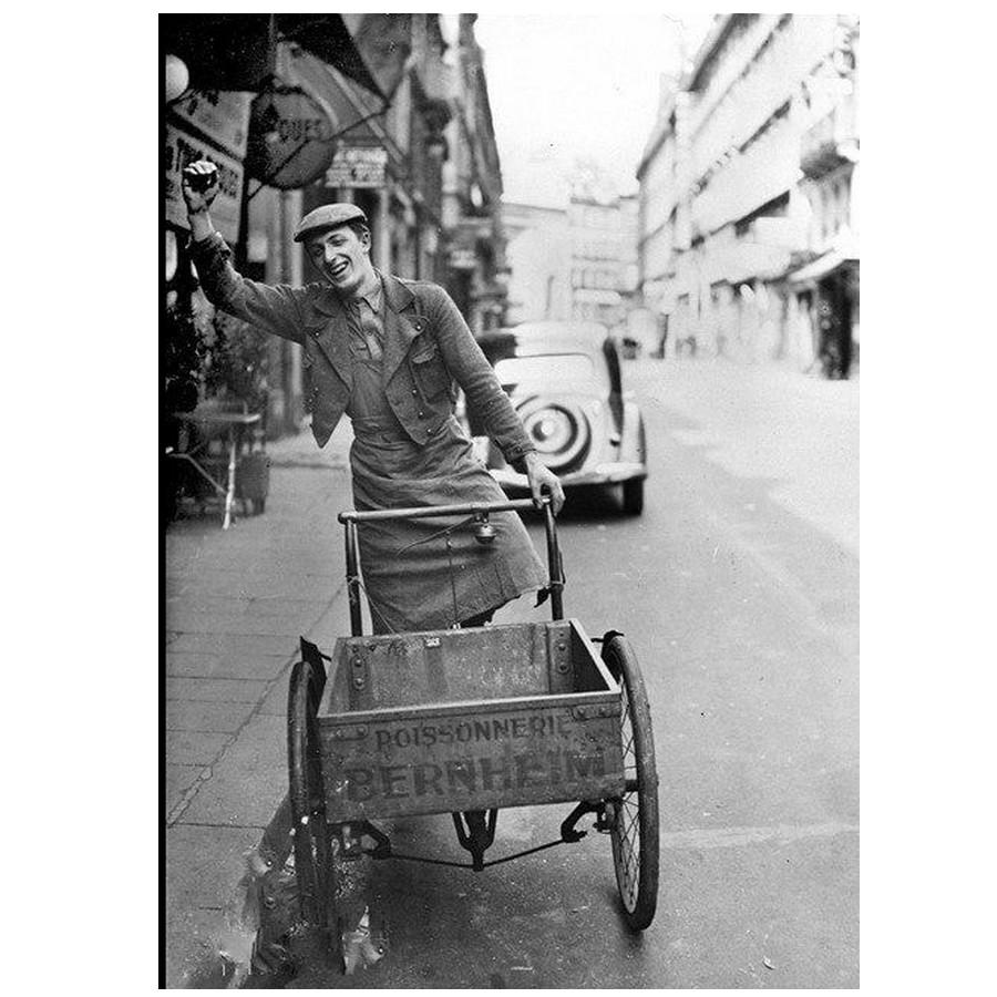 Triporteurs d'autrefois à Paris Sans_163