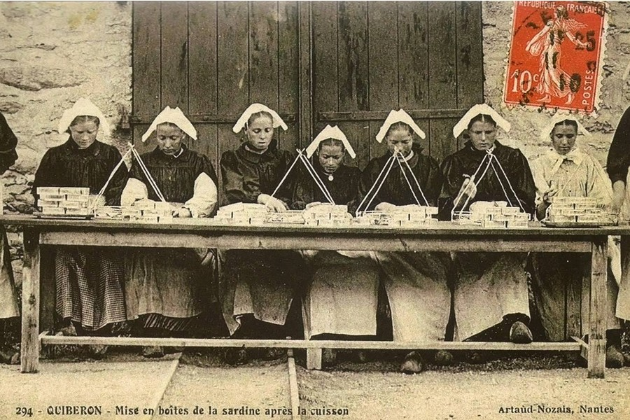 BREIZH ISTOR /LA RÉVOLTE DES PENN SARDIN / 23 NOVEMBRE 1924 / DOUARNENEZ Sans_436