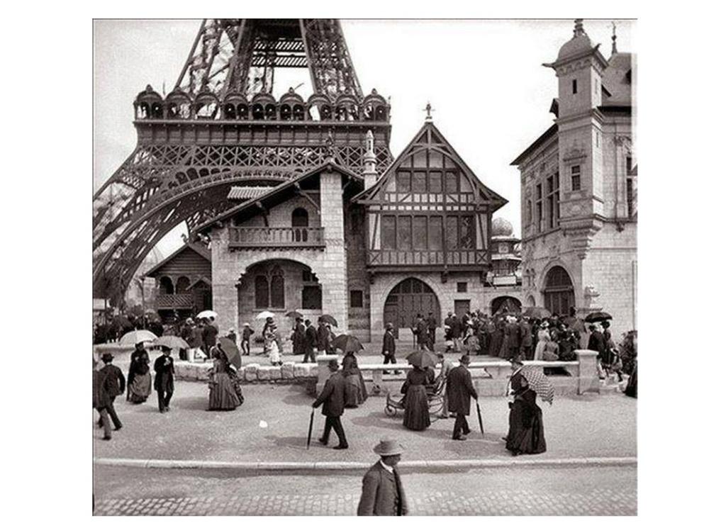 Exposition Universelle. Tour Eiffel 1889. Sans_639