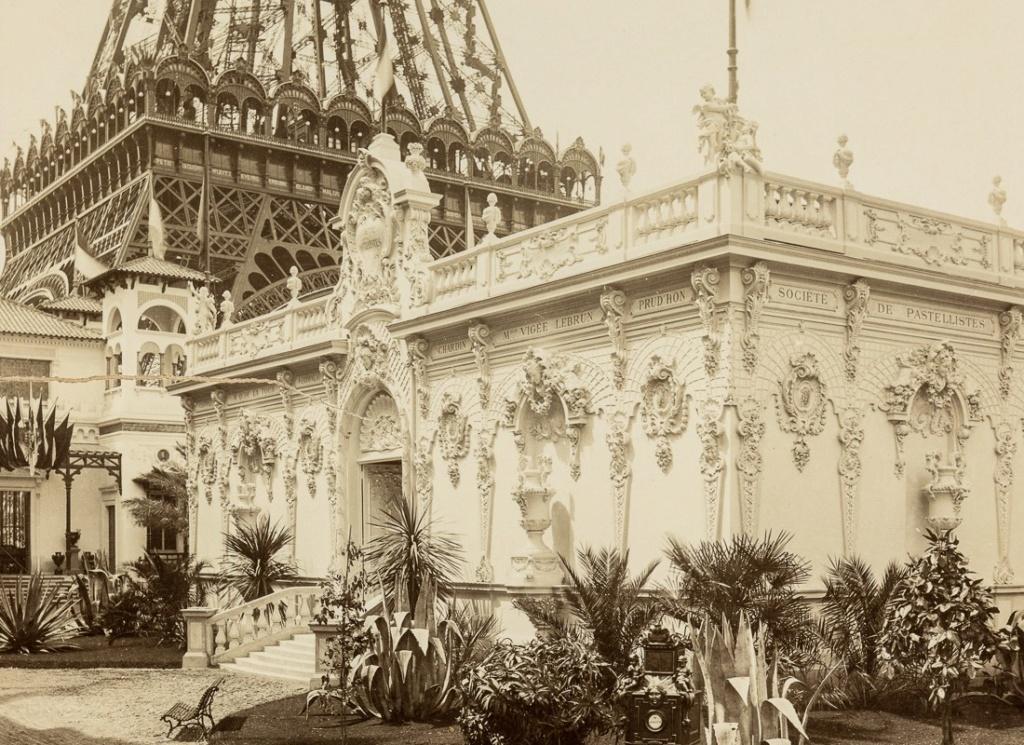 Exposition Universelle. Tour Eiffel 1889. Sans_640