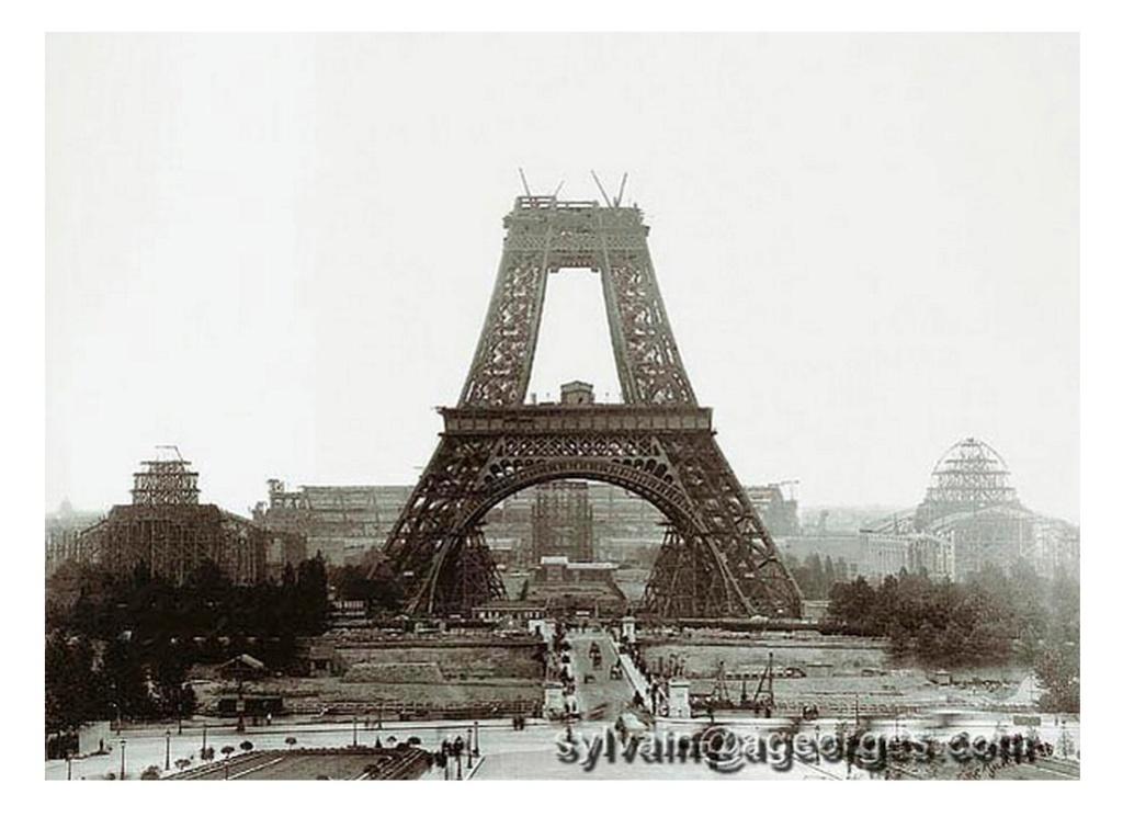 Exposition Universelle. Tour Eiffel 1889. Sans_641