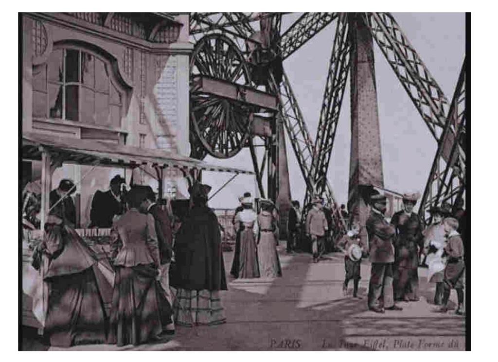 Exposition Universelle. Tour Eiffel 1889. Sans_644