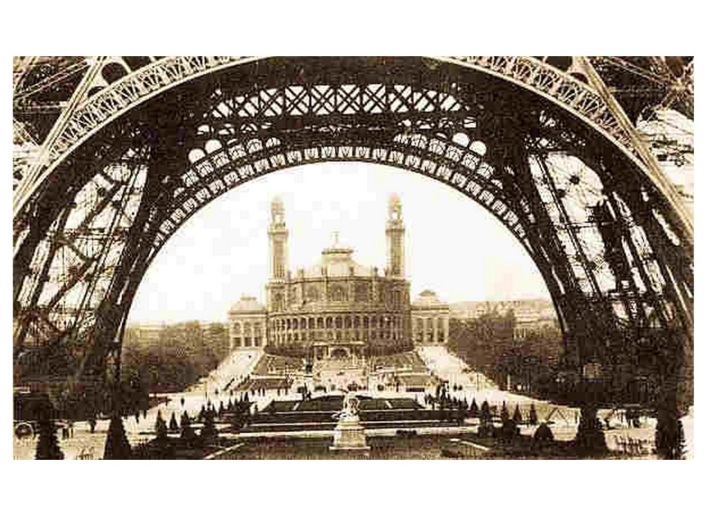 Exposition Universelle. Tour Eiffel 1889. Sans_645