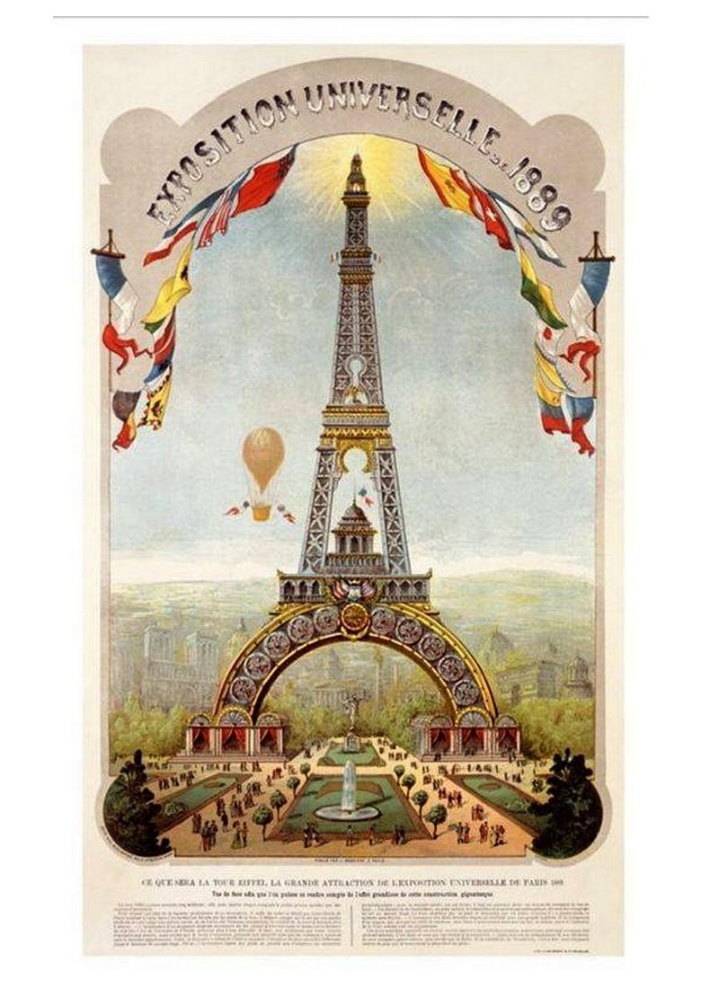 Exposition Universelle. Tour Eiffel 1889. Sans_647