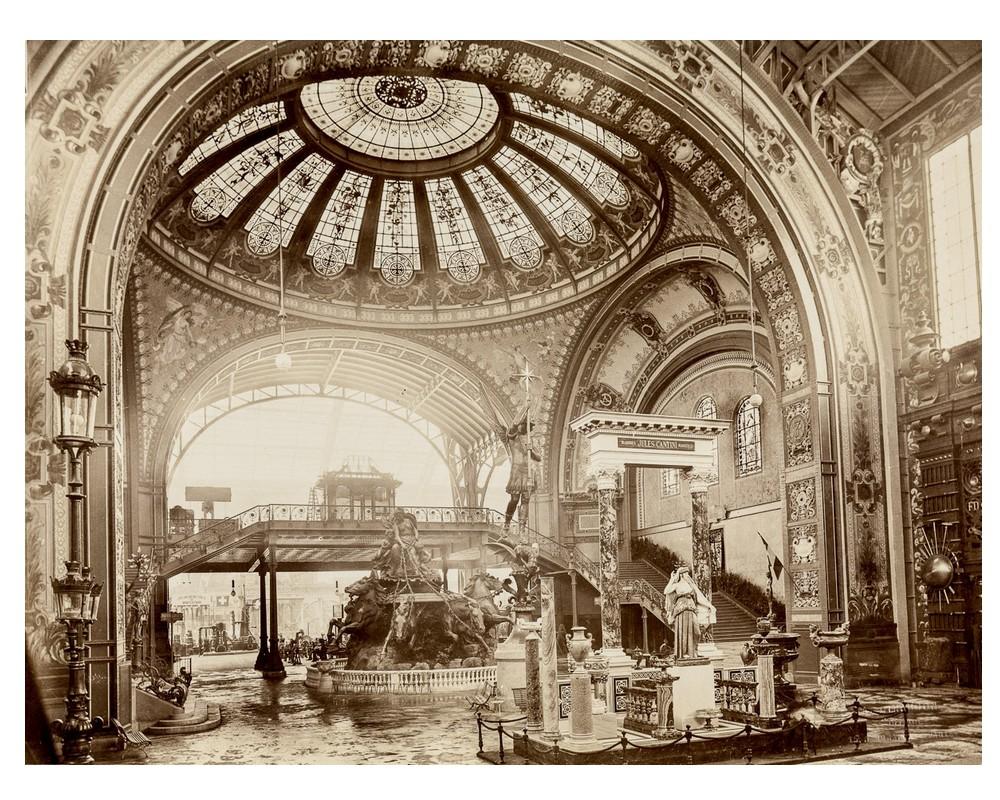 Exposition Universelle. Tour Eiffel 1889. Sans_652