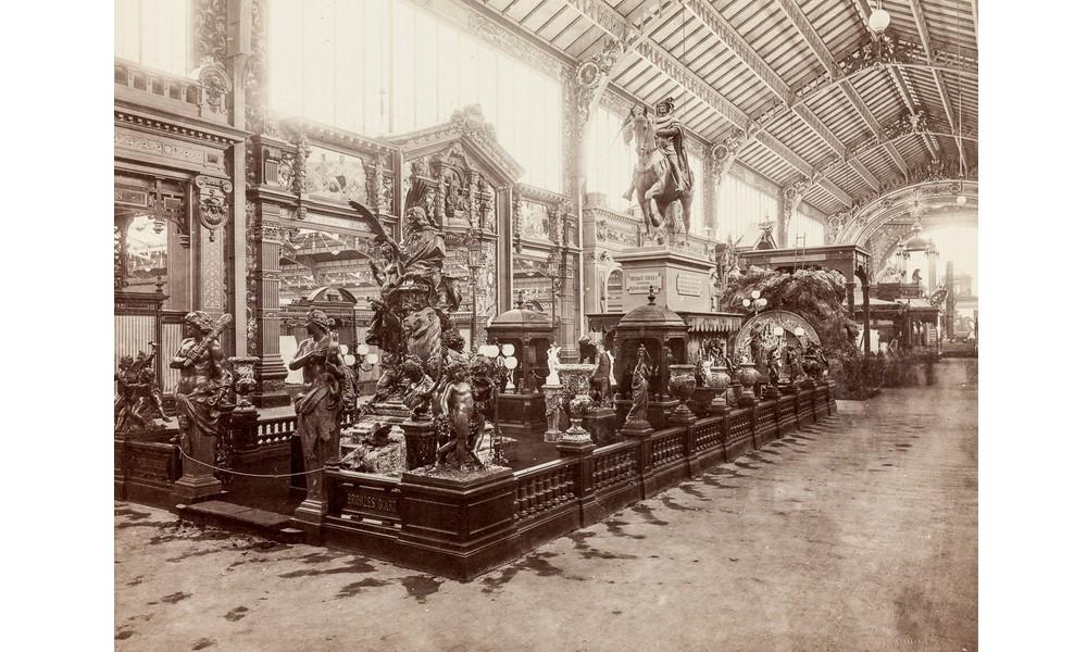 Exposition Universelle. Tour Eiffel 1889. Sans_653