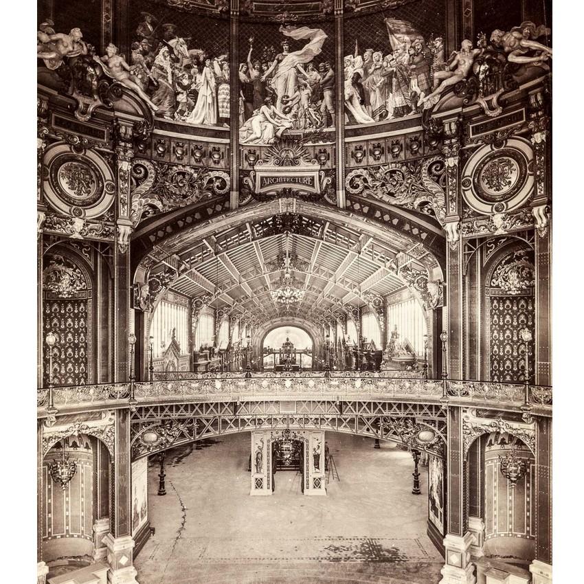 Exposition Universelle. Tour Eiffel 1889. Sans_654