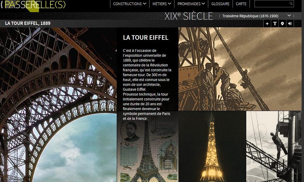 Exposition Universelle. Tour Eiffel 1889. Sans_655