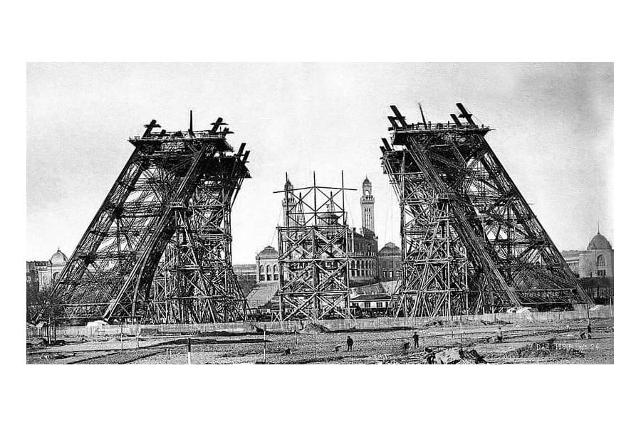 Exposition Universelle. Tour Eiffel 1889. Sans_667