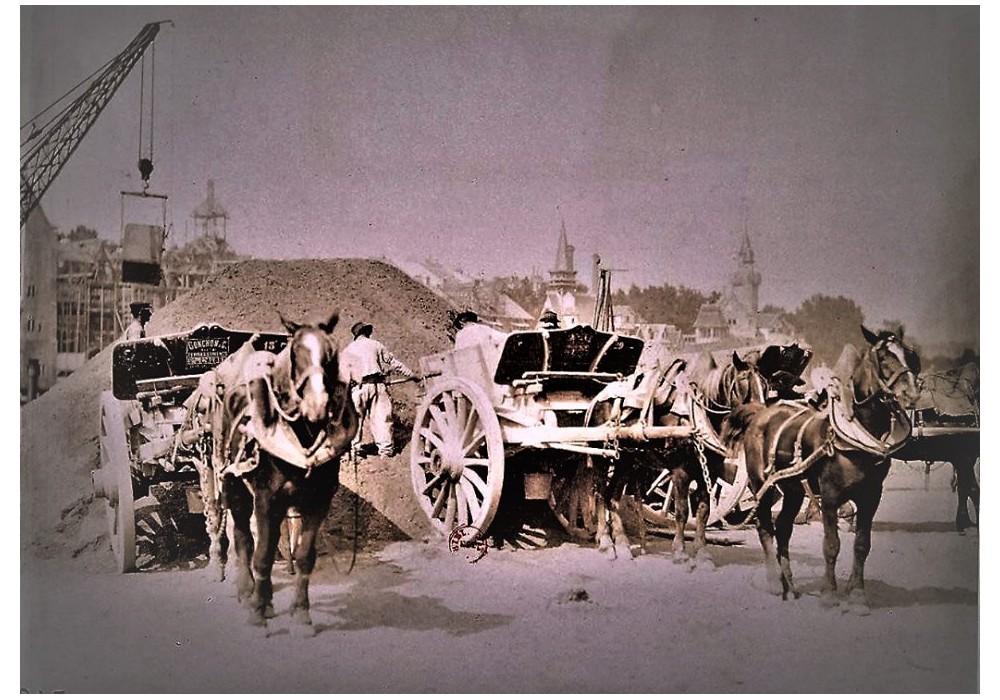 Exposition Universelle. Tour Eiffel 1889. Sans_788