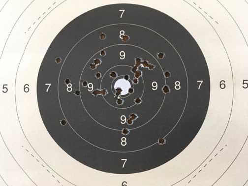 Incidence du recul sur la précision T100m111