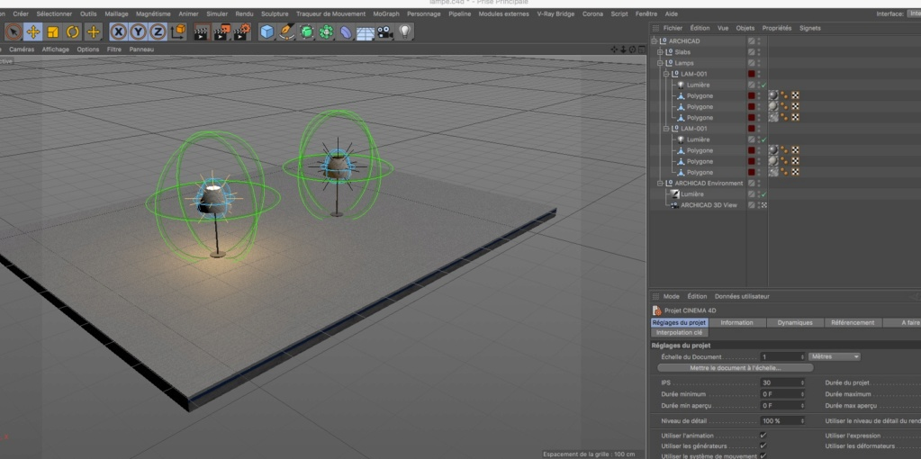[ CINEMA4D ] Archicad vers CINEMA4D - Page 2 Lampe10