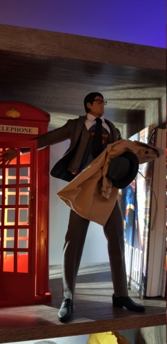 Clark Kent (1978) Superman mini-Diorama using the new TALL M36 Phicen [WIP]  20181114