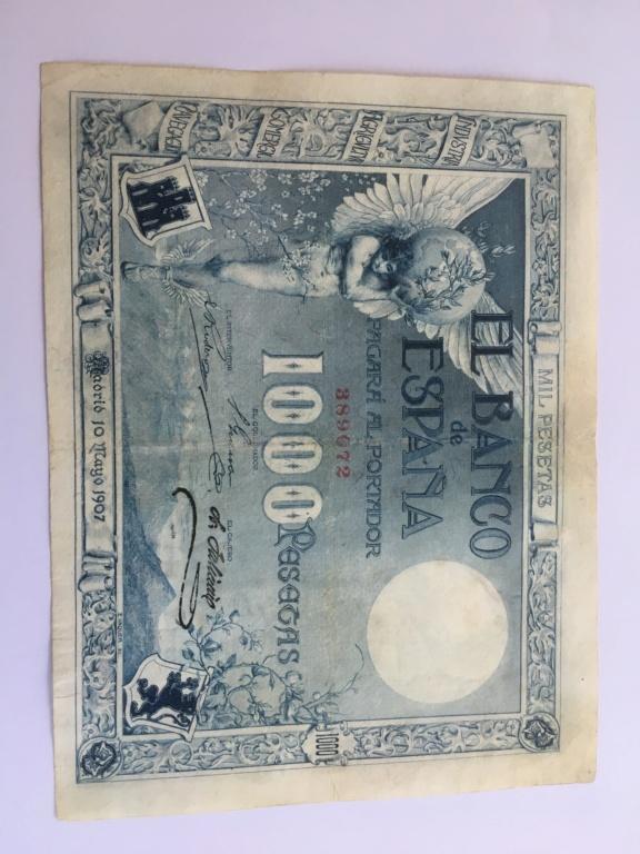Angel  1000 Pesetas del 10 Mayo 1907 1c1a1310