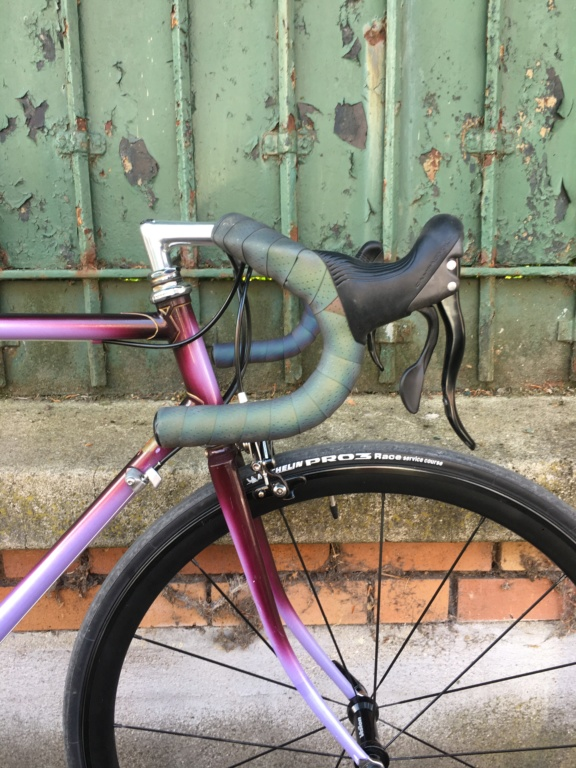 Cadre artisanal Colombus SPX 80s x Campagnolo Veloce 2017 x Lille Hardelot 2019  Img-8610