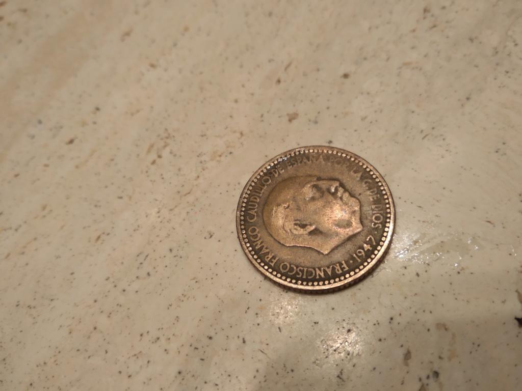 1 peseta de 1947 (*_-_). Estado Español 15477611