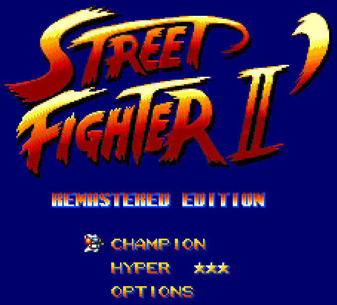 [Complete] Street Fighter II Remastered Edition + New logo (MD) - Are you ken ? - Page 3 2020-126