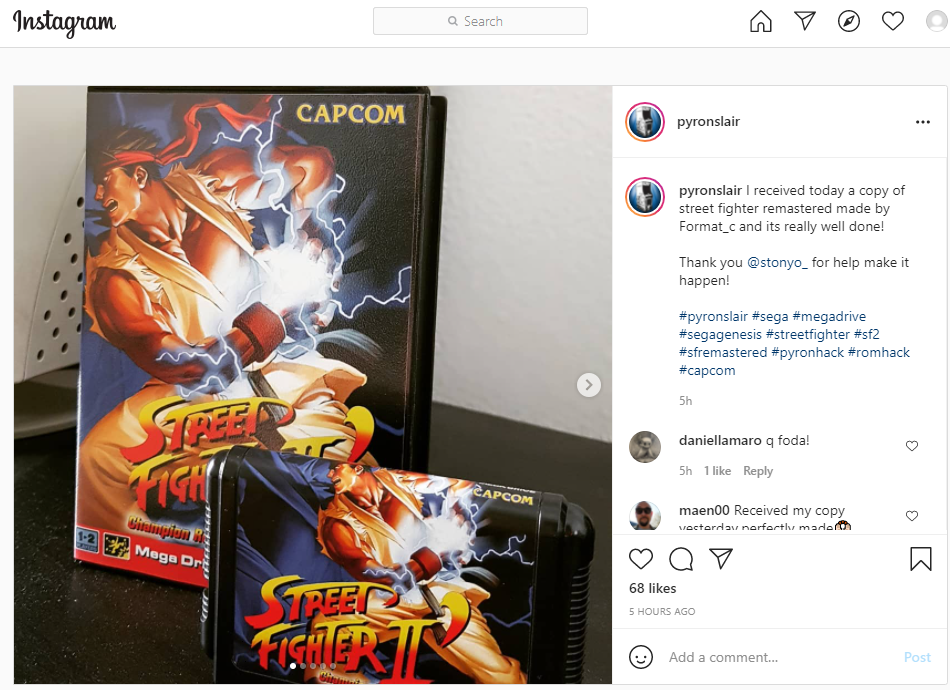 [Complete] Street Fighter II Remastered Edition + New logo (MD) - Are you ken ? - Dispo - Page 7 2021-028
