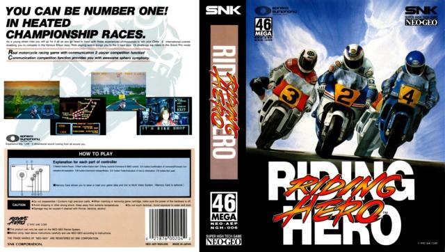 Recherche scan insert et notice Riding Hero Riding10