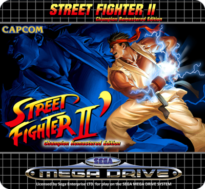 [Complete] Street Fighter II Remastered Edition + New logo (MD) - Are you ken ? - Page 4 Sticke17