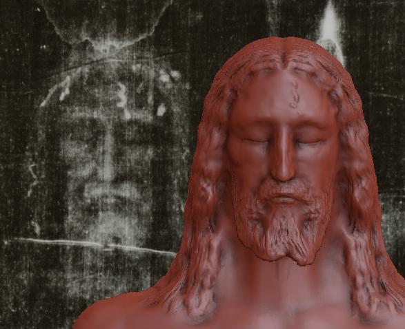Reconstitution 3D d'après le Saint Suaire. Captur12