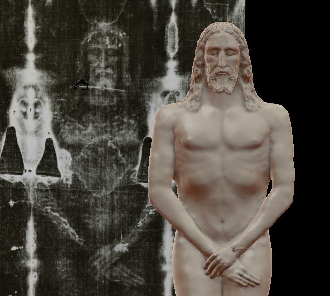 Reconstitution 3D d'après le Saint Suaire. Captur13