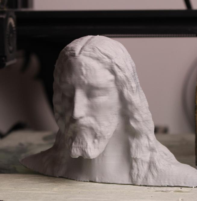Reconstitution 3D d'après le Saint Suaire. Captur14
