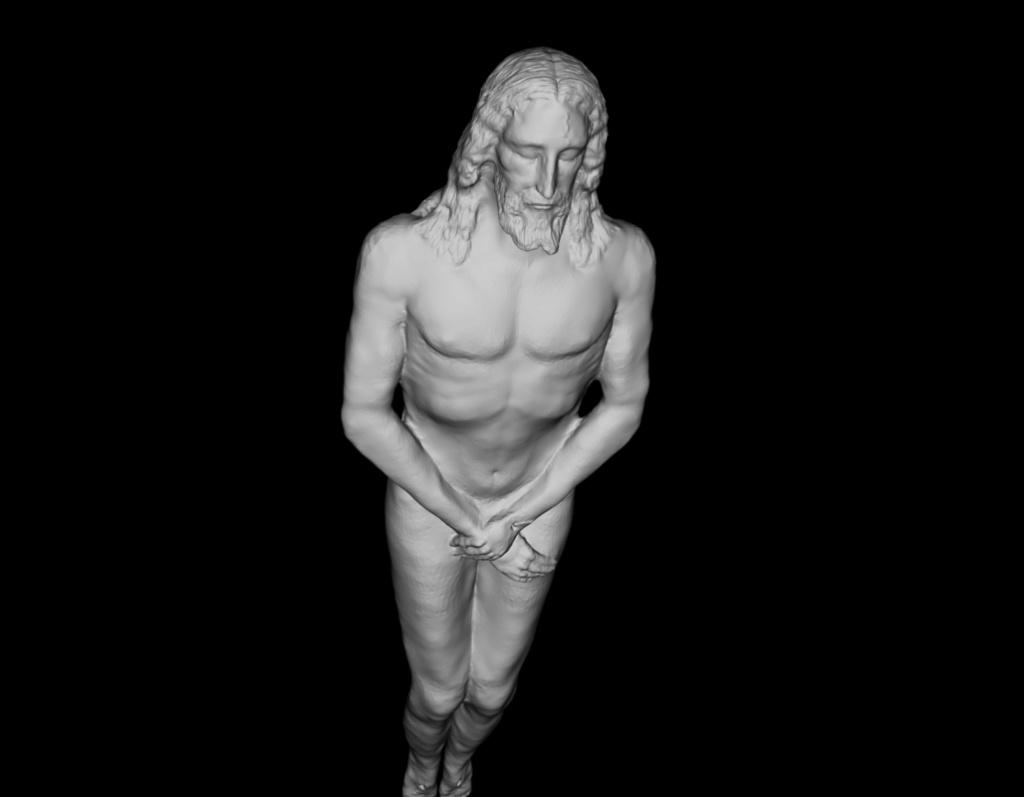 Reconstitution 3D d'après le Saint Suaire. Captur16