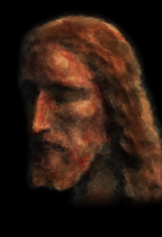 Reconstitution 3D d'après le Saint Suaire. Jesus_14