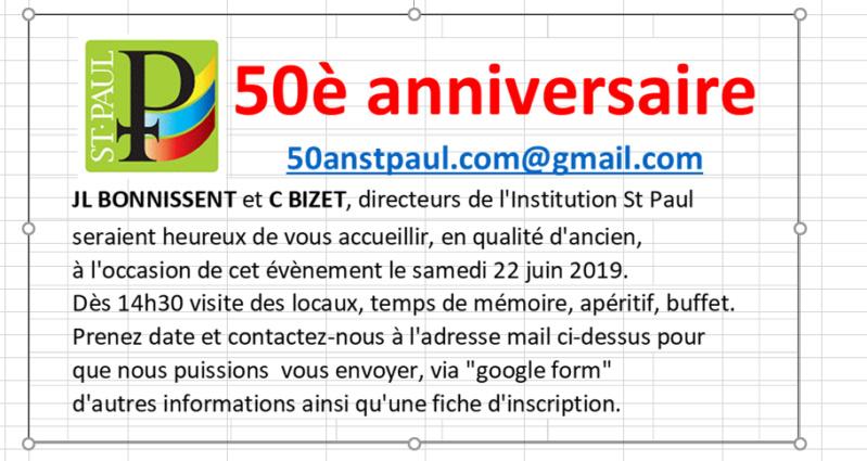 50anstpaul - Invitation à l'anniversaire de l'Institution Saint-Paul - Portail Carte_10