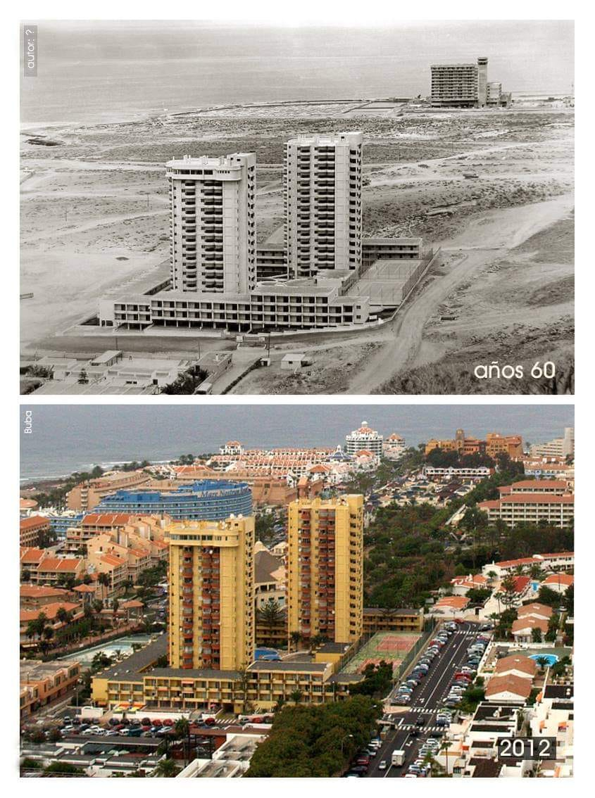 Before and after of Torres del Sol. 14310610