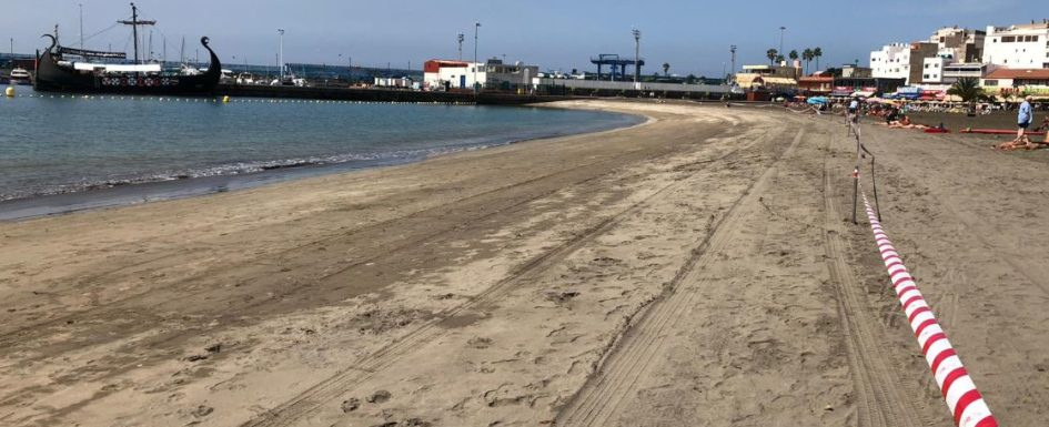 Los Cristianos beach closed due to E.coli bacteria found in water analysis 22213