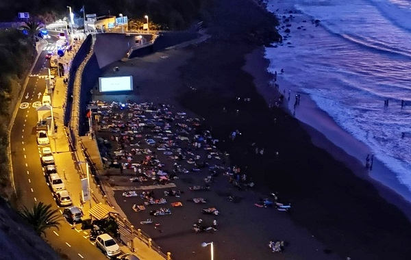 Open air cinema on the beach in Los Realejos 51698-10