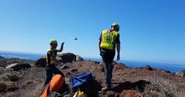 Recovery of a body in La Gomera 51777-10