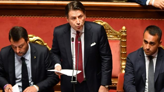 Italy government crisis: PM Conte to quit amid coalition row _1083712