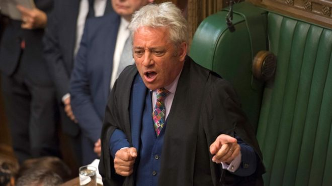 Tories bid to depose Speaker Bercow after Commons revolt _1086511