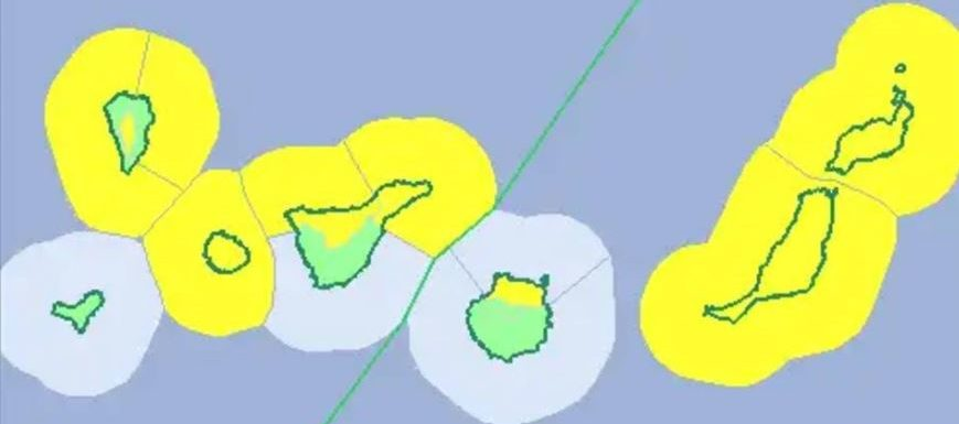Yellow alert for unstable weather should see snow on Teide for the first time this winter Aemetb10