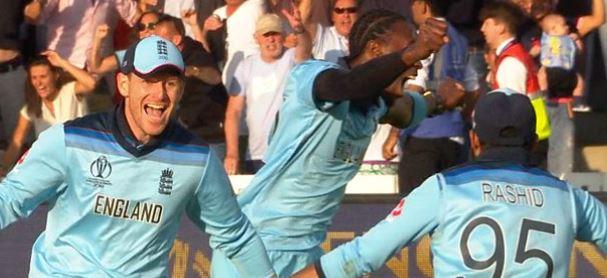 England win Cricket World Cup Captu396